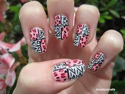 zebra pattern nail art nail designs animal print nail art designs