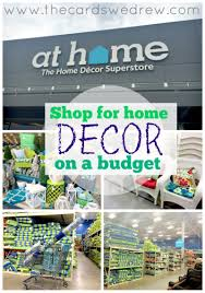 Home Interior Shop How To Shop For Home Decor On A Budget The Cards We Drew