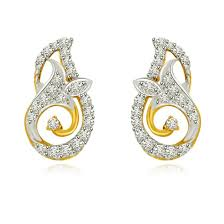 earrings buy diamond precious gemstone pearl studs ear