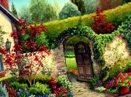 Flower Garden Ideas Pictures Houses With Flowers Home Gardens Flower Garden Four Ideas Images