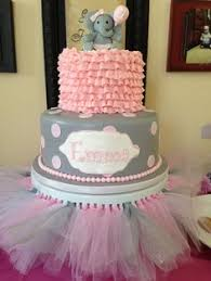 baby shower cake elephant u0026 tutu cake bottom baby