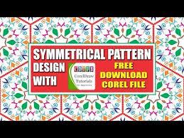 pattern corel x7 coreldraw tutorails for beginners interlocking rings in corel draw