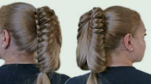 download hairstyle tutorial videos beautiful hairstyle with a ponytail for long hair video tutorial