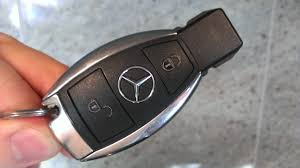 mercedes c class change mercedes key battery change a class replace remote fob a klasse