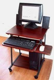 Computer Desks For Small Spaces by 7801 Computer Cart Showing Fax U0026 Printer In Tower Shelf Space