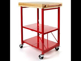 folding kitchen island cart origami folding kitchen island cart youtube