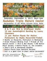 native plant society visit rolla u2013 native plant sale birding u0026 pollinator festival