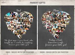 dad gift parent u0027s personalized photo collage dad