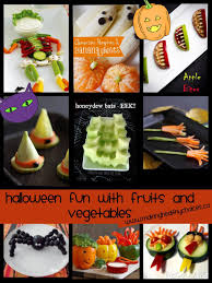 making healthy choices halloween fun with fruits and vegetables