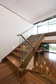 Stainless Steel Handrail Designs Stairs Staircase Glass Balustrade Timber Stainless Steel