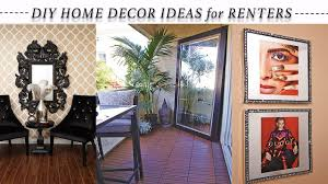 home by decor new 8 easy home decor ideas for renters youtube