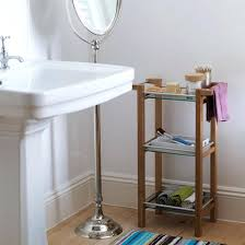 freestanding bathroom shelvesfamily bathrooms with free standing