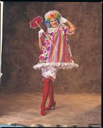 clown costumes for halloween womens betty brite clown costume halloween costumes 4u