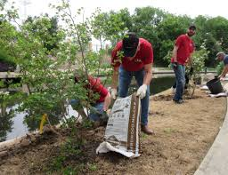 san antonio native plants lpa inc celebrates earth day by planting 50 trees at san antonio
