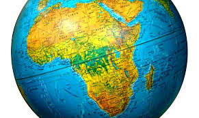 Africa On The Map by Globe Africa