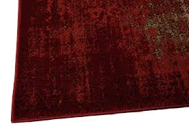 Red Runner Rug Karma Krm01 Red Runner Rug Nourison Rugs Funkyrugs