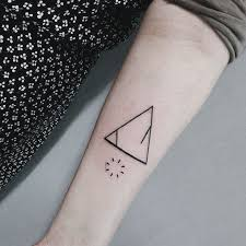 triangle tattoo meanings and symbols pictures to pin on pinterest