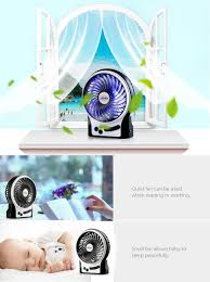 Small Table Fan Souq Amazon Com Efluky Mini Usb 3 Speeds Rechargeable Portable Table