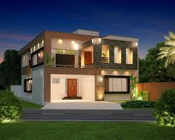 Modern Elevation Terrific Architecture Luxurious Home Design With Balcony In Front