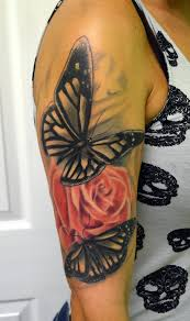 butterfly i did a while back by rudeboytattoo on