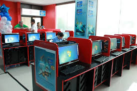 lovely internet cafe table design picture 22 for your exterior
