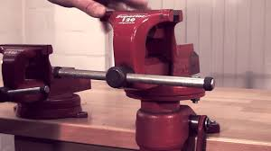 ridgid peddinghaus vices and accessories youtube