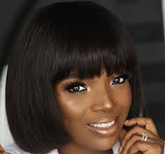 naigerian actresses hairstyles nigerian celebrities who have rocked the bob hairstyle photos