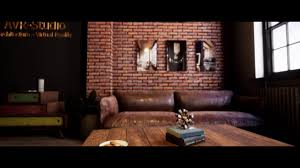 unreal engine 4 archviz loft office 4k youtube