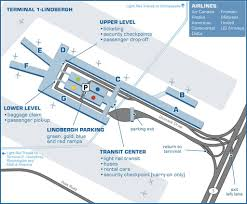 Lga Terminal Map Minneapolis Airport Map Delta Terminal Image Gallery Hcpr