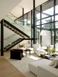 modern villa interior simple contemporary interior design