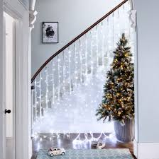 design tree curtain lights panel with for your
