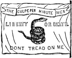 Don T Tread On Me Flag Origin The Culpepper Flag Clipart Etc