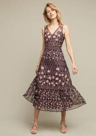 Pierre Dress Anthropologie Anthropologie Tansey Tulle Midi Dress Dresses Shop It To Me