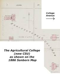 Pierce College Map These Buildings Remain Sanborn Map 1886 Page 1 Forgotten Fort
