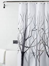 Shower Curtains With Trees Black Tree Shower Curtain Shower Curtains Simons New