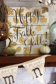 thanksgiving mantel natural layered fall mantel