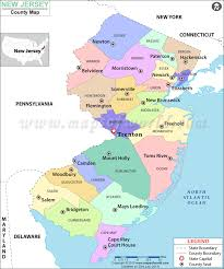 map of counties in nj my