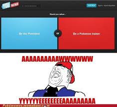 Pokemon Trainer Red Meme - pokémemes ill just battle the president pokemon memes pokémon