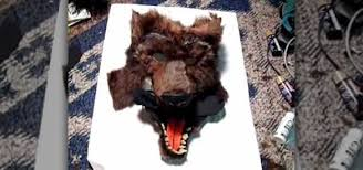 Werewolf Mask How To Make A Furry Werewolf Mask Holidays Wonderhowto