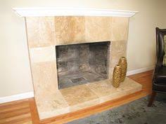Travertine Fireplace Tile by Tiled Fireplaces Before Tc Tile Refurbished After Tc Tiles