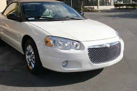 bentley chrome chrysler sebring chrome bentley mesh grille full replacement trim