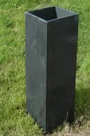 solid planters in slate custom made by ardosia in devon