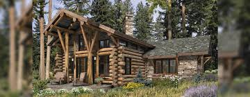 Log Cabin Home Floor Plans by Telluride Log Home Floor Plan
