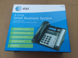 at u0026t 1040 4 line corded business phone system w speakerphone