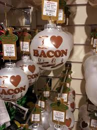 bacon ornament baconcoma