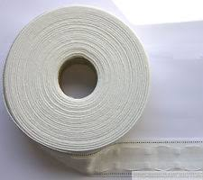 Pencil Pleat Curtain Tape 50mm Manhattan Velcro Pencil Pleat Curtain Tape White Per 50