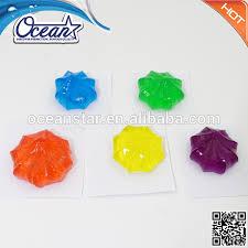 Best Cleaner For Bathroom 36ml Jelly Flower Type Colorful Gel Toilet Cleaner For Bathroom