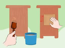 Wooden Furniture How To Varnish Raw And Unfinished Wooden Furniture With Pictures