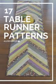 free thanksgiving quilt patterns gorgeous table runner patterns 17 diy table runner tutorials