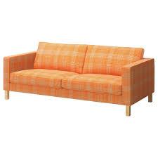 ikea sofa slipcovers ikea karlstad cover sofa slipcover husie orange 002 547 04 cotton